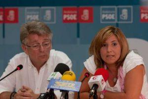 Glez Cabaña e Irene García en una foto de archivoñ
